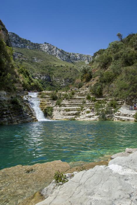 Cavagrande Cassibile Canyon, Sicily, Italy