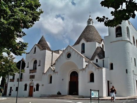 Church of Sant Antonio, Alberobello, Puglia, Italy