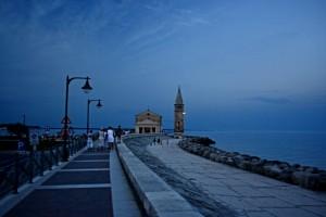 Evening stroll in Caorle, Veneto, Italy