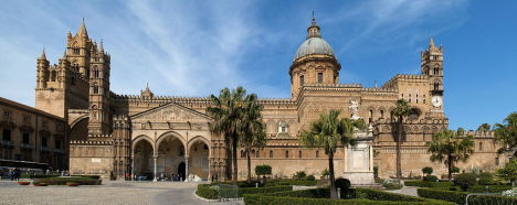 Palermo Cathedral, Sicily, Italy