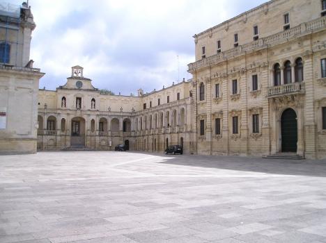 Piazza del Duomo, Lecce, Apulia, Italy