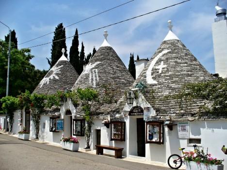 Trulli houses, Alberobello, Puglia, Italy