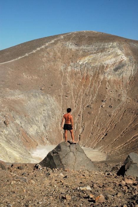 Crater Vulcano, Aeolian Islands, Sicily, Italy