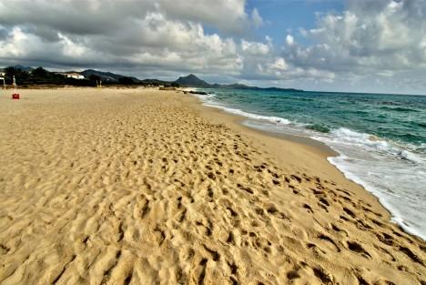 Costa Rei beach, Sardinia, Italy
