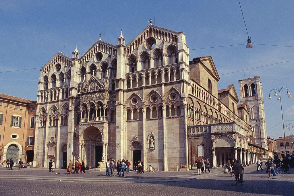 Ferrara Cathedral, Emilia-Romagna, Italy
