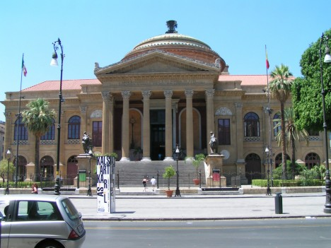 Teatro Massimo, Palermo, Sicily, Italy