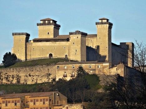 Albornoz Fortress (Rocca Albornoziana), Orvieto, Umbria, Italy