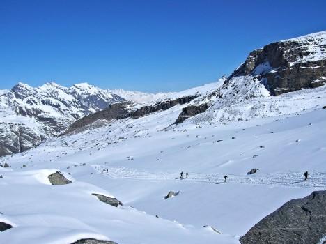 Gran Paradiso ski, Italy