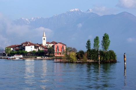 Isola dei Pescatori, Lago Maggiore, Piemonte, Italy