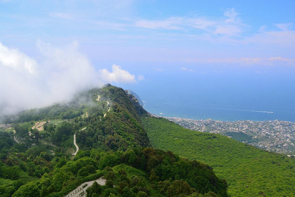 Trail to Monte Epomeo, Ischia, Campania, Italy