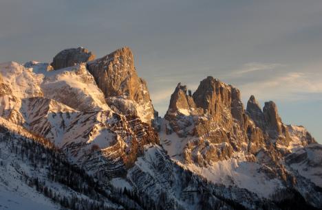 Passo Rolle, Dolomites, Italy