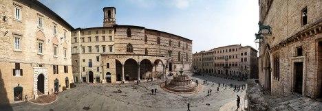 Piazza IV Novembre, Perugia, Umbria, Italy