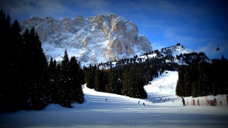 Sella Ronda ski, Dolomites, Italy