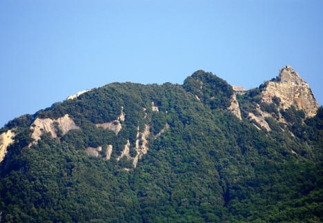 Summit of Monte Epomeo, Ischia, Campania, Italy