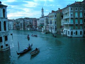 Grand Canal in Venice, Veneto, Italy