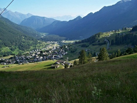 Valle d'Ayas, Aosta valley, Italy