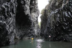 Alcàntara Gorge, Sicily, Italy