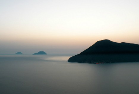 Alicudi, Filicudi and Salina, Aeolian islands, Sicily, Italy