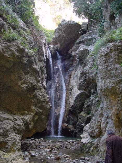Catafurco waterfall, Nebrodi Mountains, Sicily, Italy