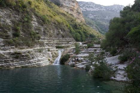 Cavagrande Cassibile Canyon, Sicily, Italy