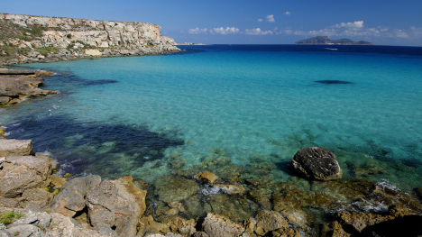 Favignana, Egadi Islands, Sicily, Italy