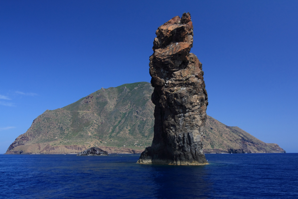 Scoglio della Canna and Filicudi, Aeolian Islands, Sicily, Italy