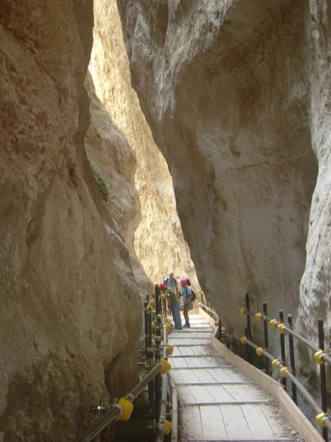 Gola di Fara San Martino, Majella National Park, Italy