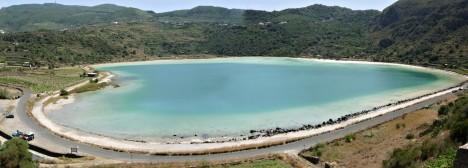 Lago Specchio di Venere, Pantelleria, Sicily, Italy
