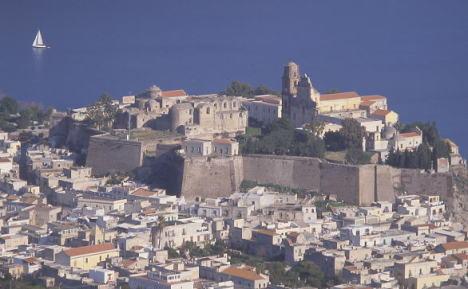 Lipari Castello, Sicily, Italy