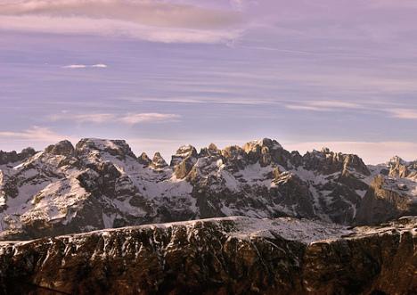 Monte Bondone Ski Area, Dolomiti, Trentino, Italy