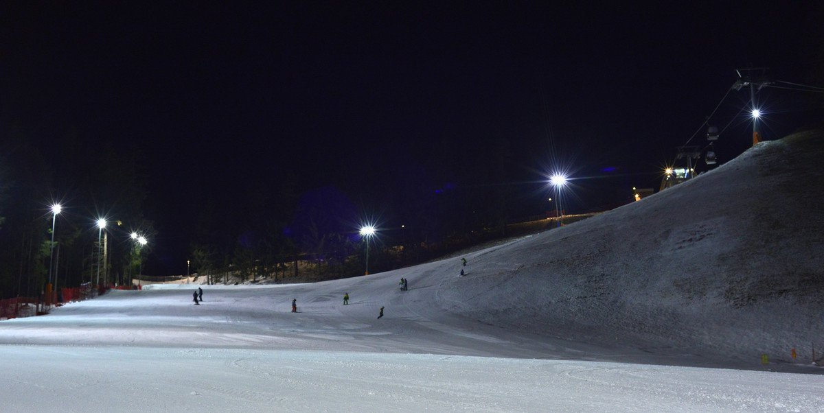 Night Skiing Kronplatz