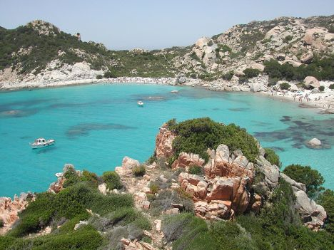 Spargi island, Arcipelago di La Maddalena, Sardinia, Italy
