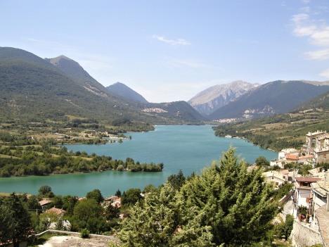 Lake Barrea, National Park of Abruzzo, Italy