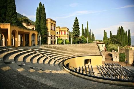 Il Vittoriale teatro, Gardone Riviera, Italy