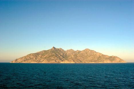 Montecristo island, Tuscan Archipelago, Italy