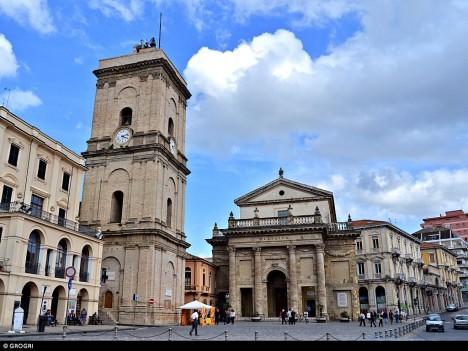 Piazza Plebiscito, Lanciano, Abruzzo, Italy