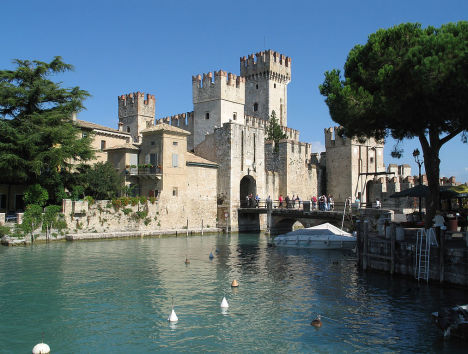 Rocca Scaligera Castle, Sirmione, Italy