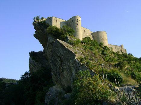 Roccascalegna Castle, Abruzzo, Italy