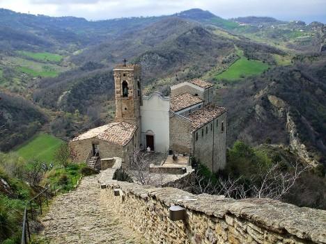 San Pietro church, Roccascalegna, Abruzzo, Italy