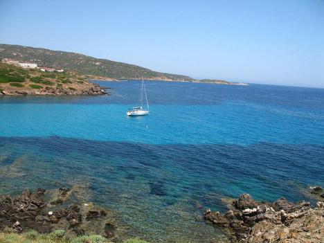 Sea around Asinara island, Sardinia, Italy