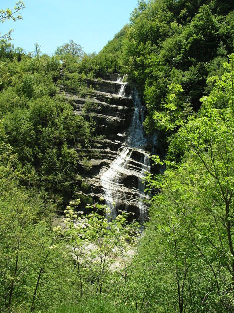 Acquacheta waterfall, Tuscany, Italy