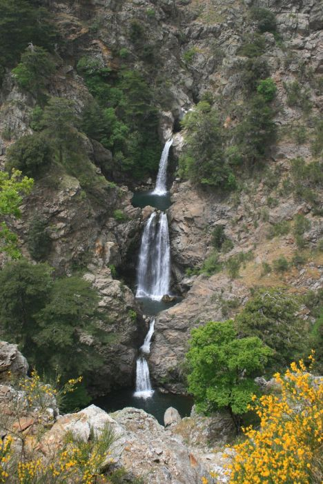 Cascate di Maesano, Aspromonte National Park, Calabria, Italy