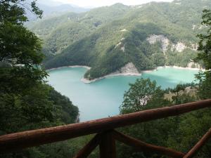 Ridracoli lake, Emilia Romagna, Italy