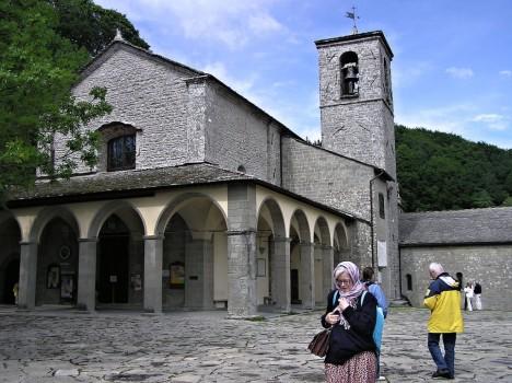 Santuario della verna, Tuscany, Italy