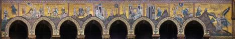 Monreale - mosaic cycle, Sicily, Italy