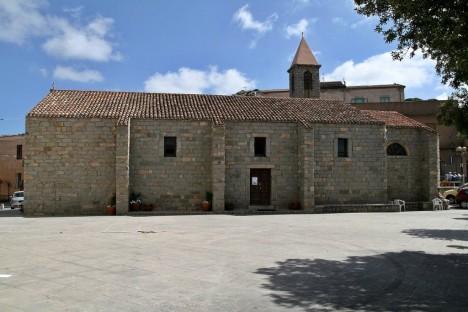 Chiesa della Santissima Trinità in Trinità d'Agultu, Sardinia, Italy