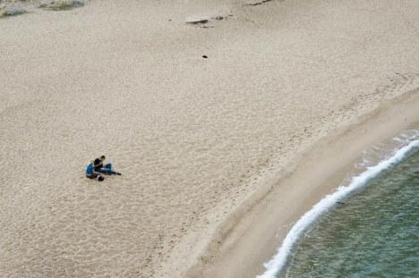 Costa Paradiso sandy beach, Sardinia, Italy