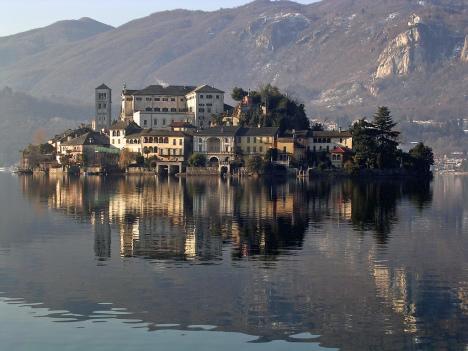 Isola San Giulio, Piemonte, Italy