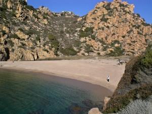 Li Cossi beach, Costa Paradiso, Sardinia, Italy