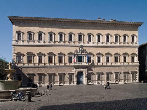 Palazzo Farnese, Rome, Italy